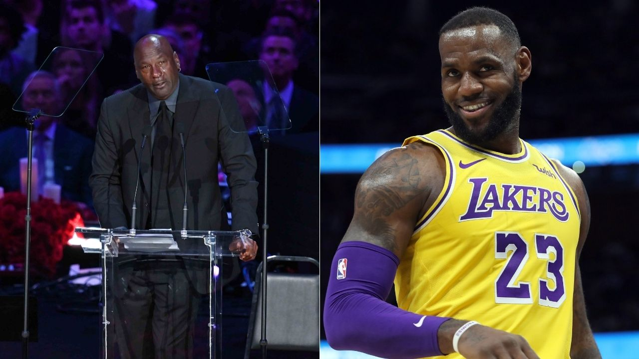 """""""Michael Jordan vs LeBron James?"""": GOAT debates in NBA basketball continue to rage on unabated between the Lakers star and Bulls legend even today"""