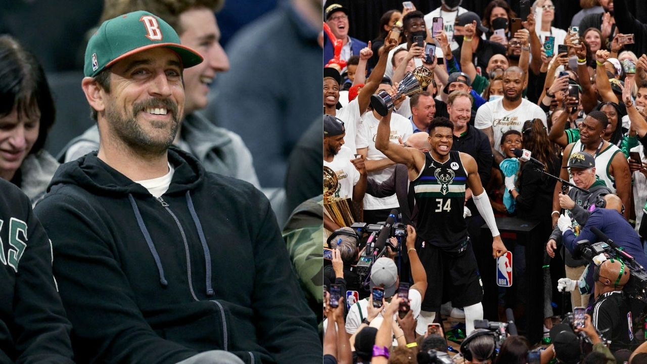 """""""I'm about to play NBA 2K with the bucks now"""", Aaron Rodgers and other NFL Players react to Milwaukee Bucks defeating Phoenix Suns in NBA Finals"""