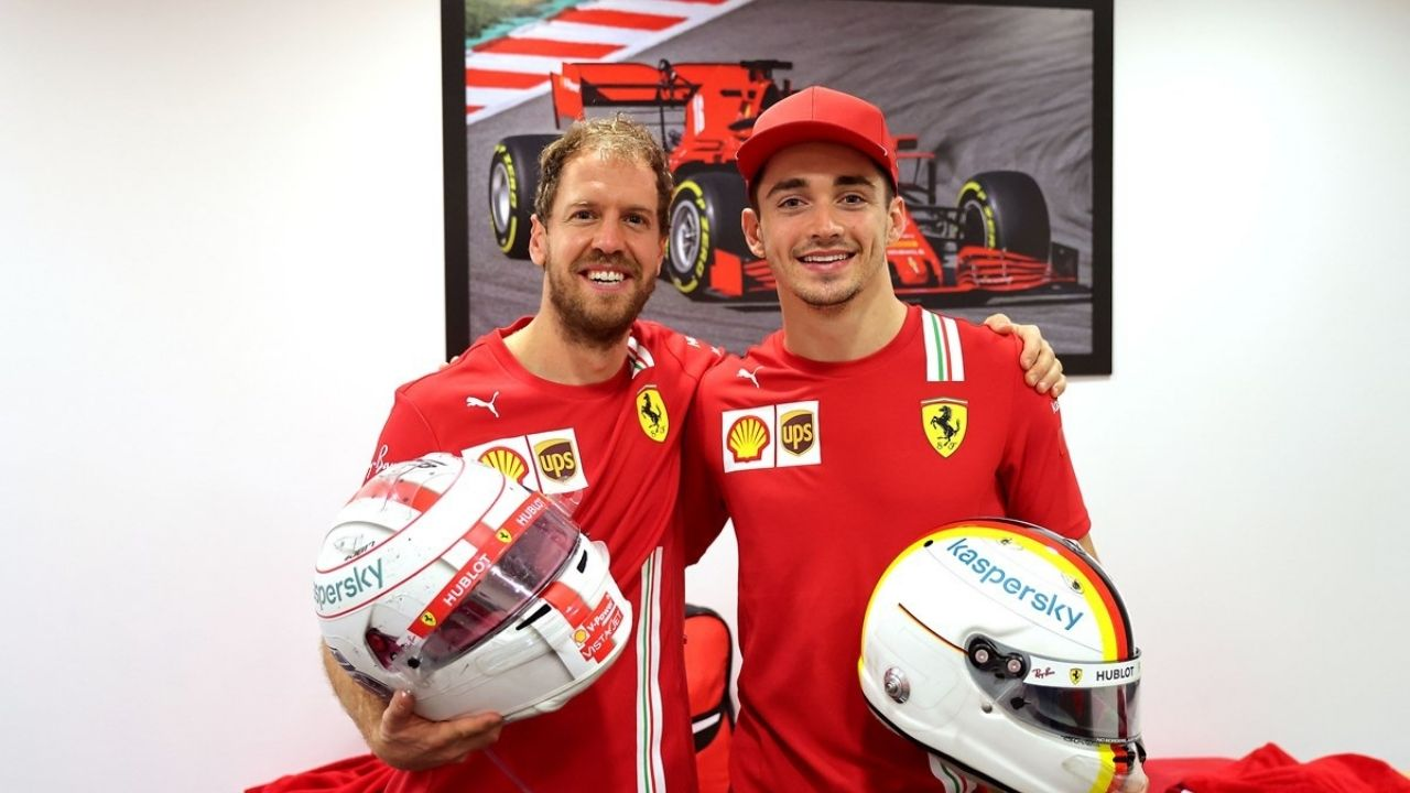 """""""I saw him a little bit like an older brother"""" - Charles Leclerc on his relationship with Sebastian Vettel and Carlos Sainz"""