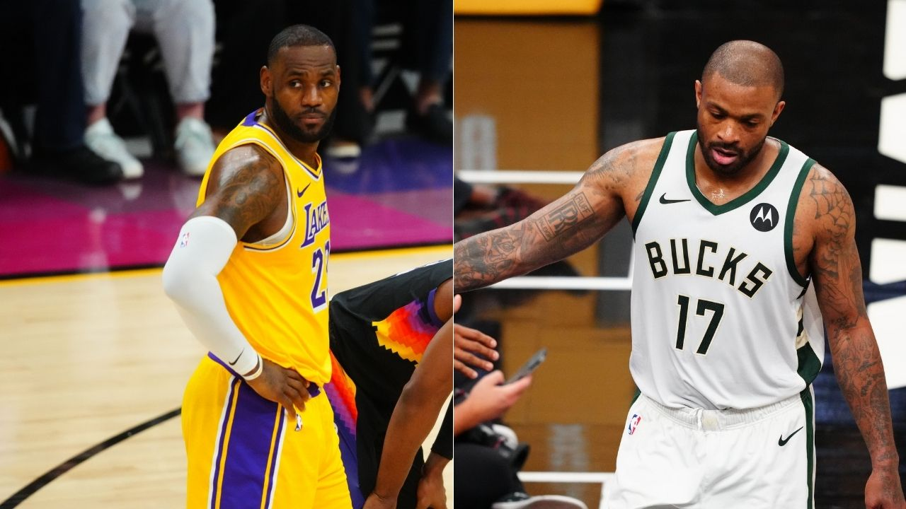 """""""PJ Tucker to join forces with LeBron James and Anthony Davis in LA?"""": The Bucks' forward is in high demand entering 2021-22 off-season"""