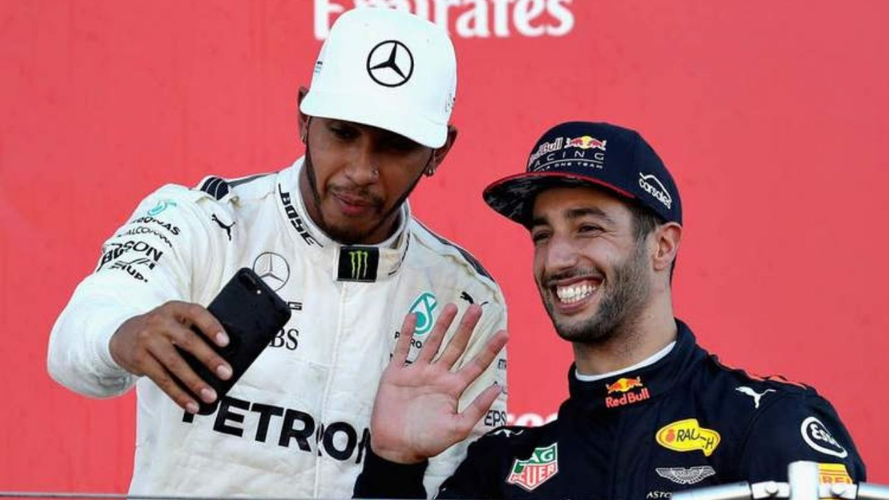 """""""There is absolutely zero place for racism""""– Daniel Ricciardo breaks silence after racist attacks on Lewis Hamilton"""