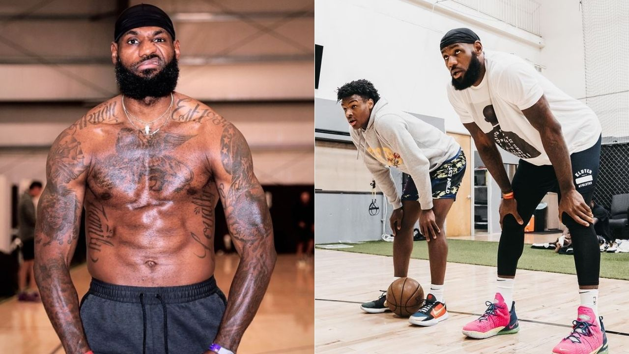 """""""LeBron James' cheat meals include a 16 topping pizza and some wine"""": The 4x NBA champion definitely knows how to have his cheat meals like a king"""