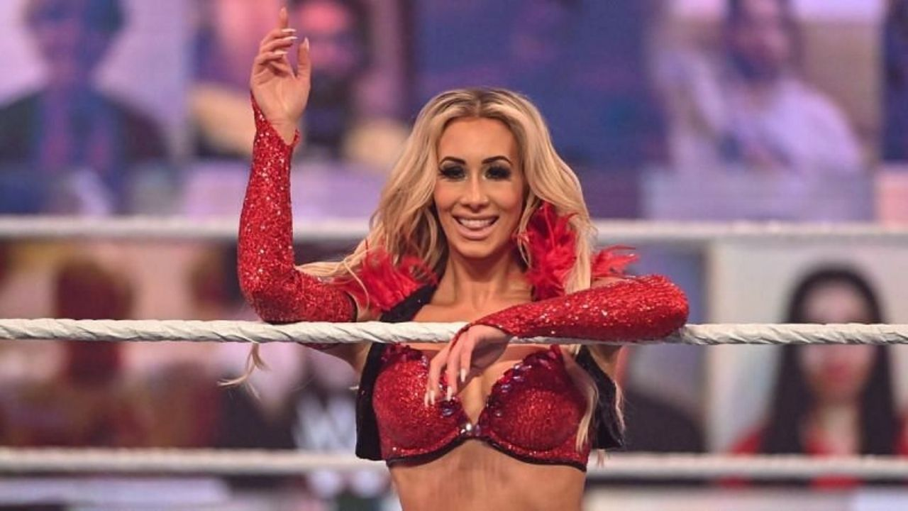 Carmella hits out at fans who think she doesn't SmackDown Women's title match