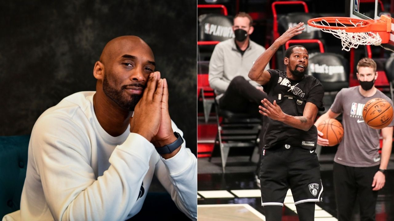 """""""Kobe Bryant is a god to me"""": Kevin Durant jokes about what the Lakers legend taught him in their first meeting for Team USA Basketball"""