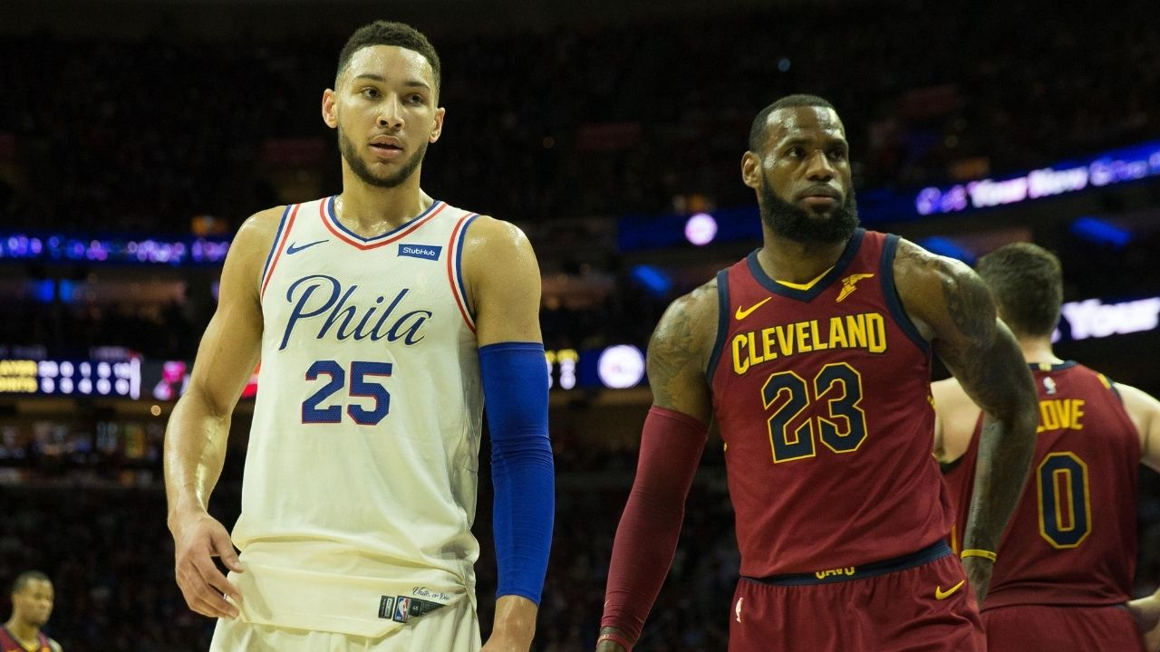 """""""Ben Simmons is a freak athlete likeLeBron James"""": NBA executives are still comparing Ben to the Lakers star despite his playoff struggles"""
