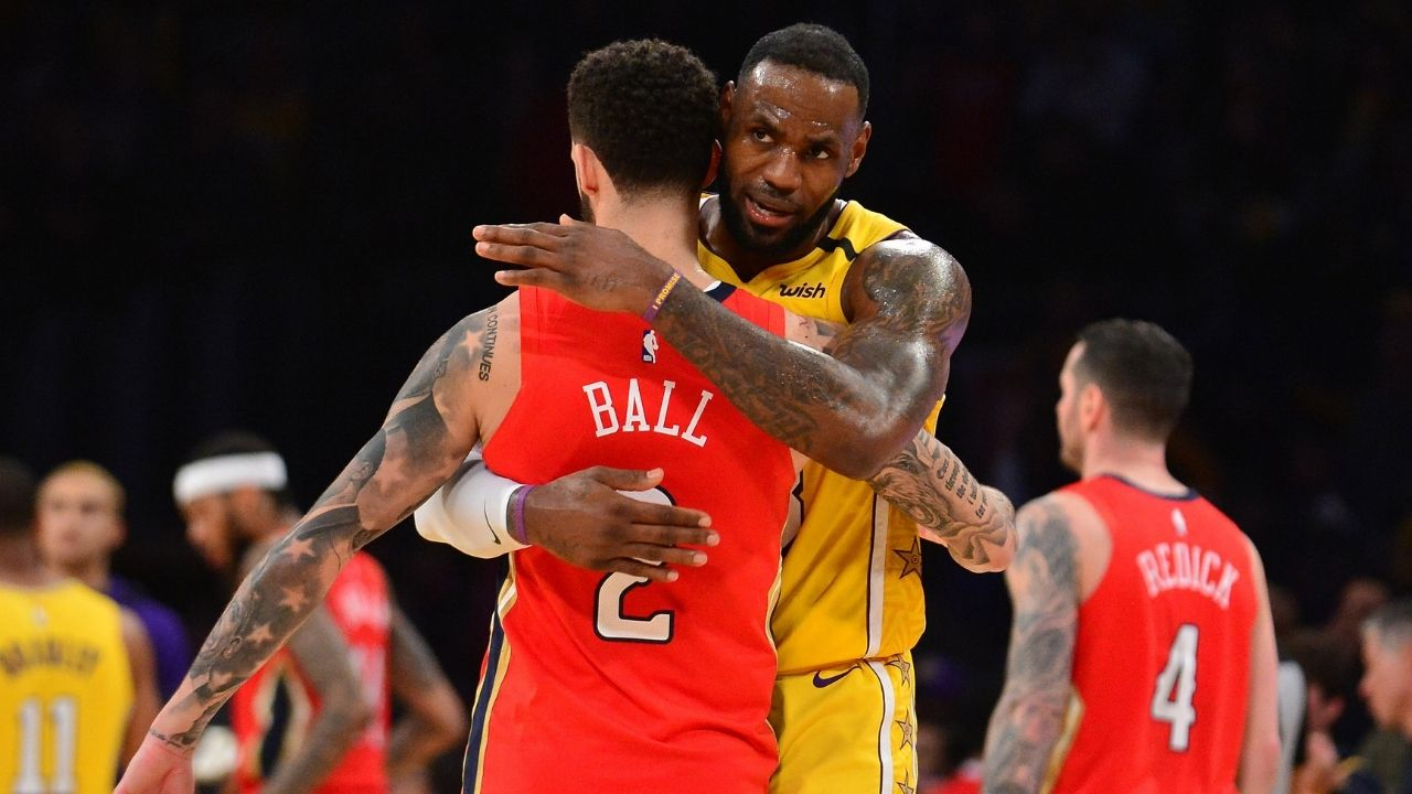 """""""LeBron James and Lonzo Ball have a big brother/little brother connection"""": Skip Bayless claims the Pelicans star needs to join the Lakers"""