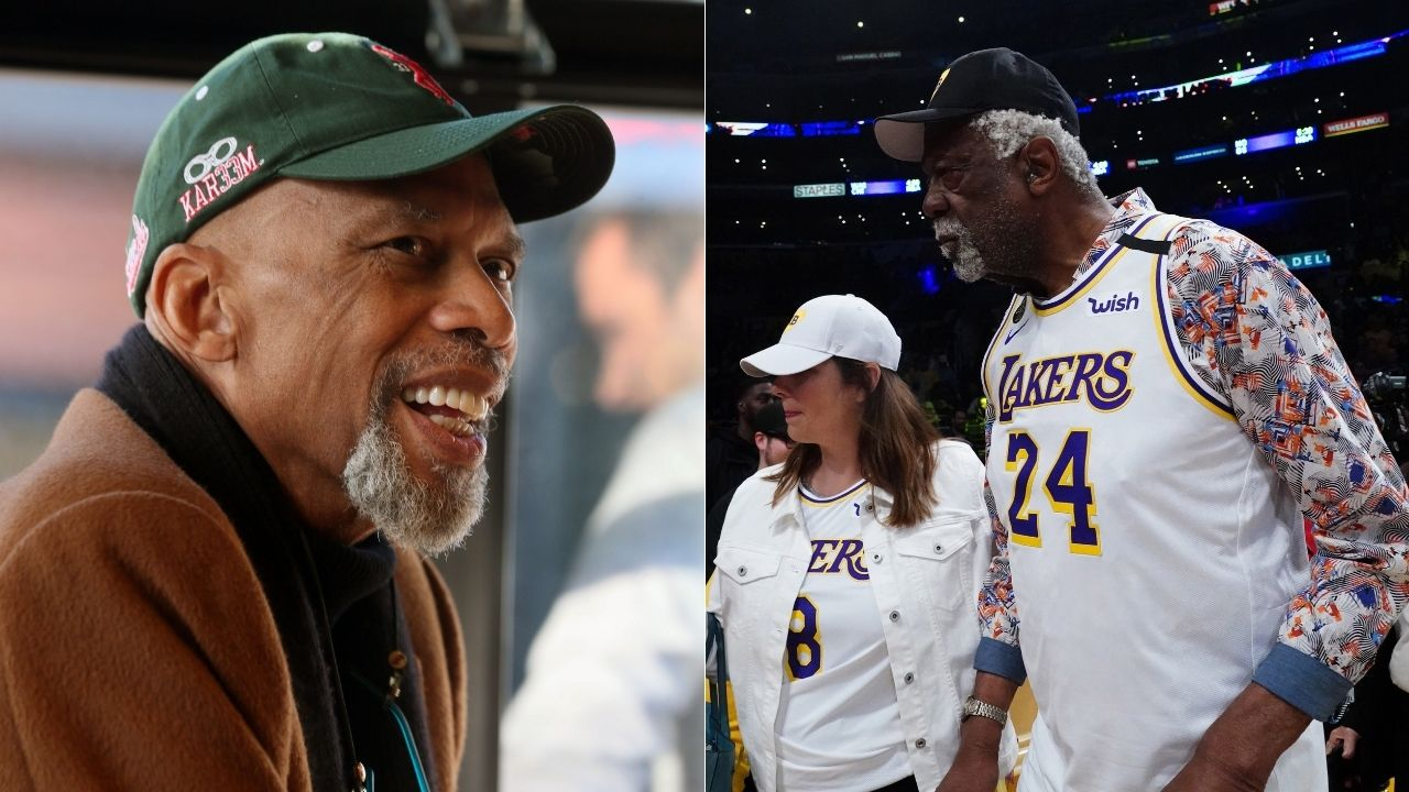 """""""Wilt Chamberlain? More like Wilt Chumperlame"""": Kareem Abdul-Jabbar wrote an open letter after retiring from the Lakers detailing how Bill Russell dominated the mythical big man"""