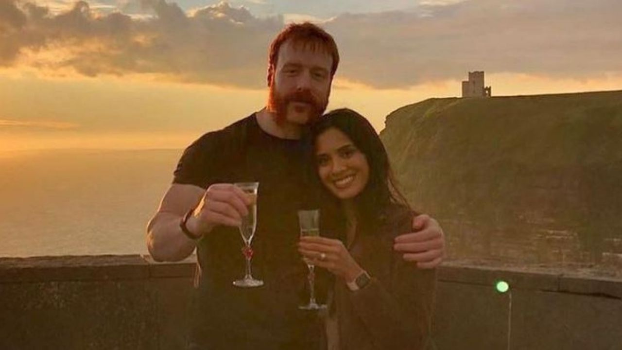 WWE Superstar Sheamus engaged to be married after proposing long time girlfriend