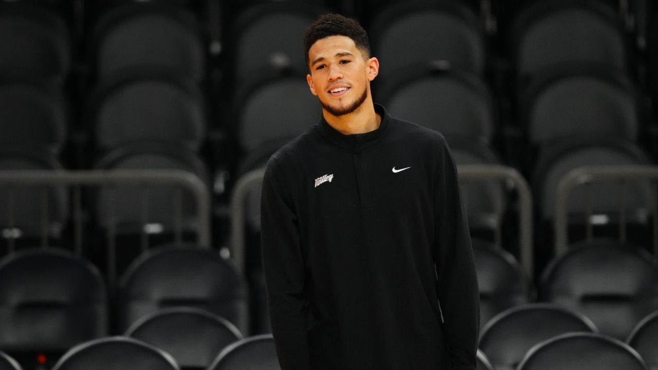 """""""Kobe Bryant would ask me to finish the job"""": Devin Booker keeps his foot on the gas ahead of NBA Finals Game 2 vs Milwaukee Bucks"""