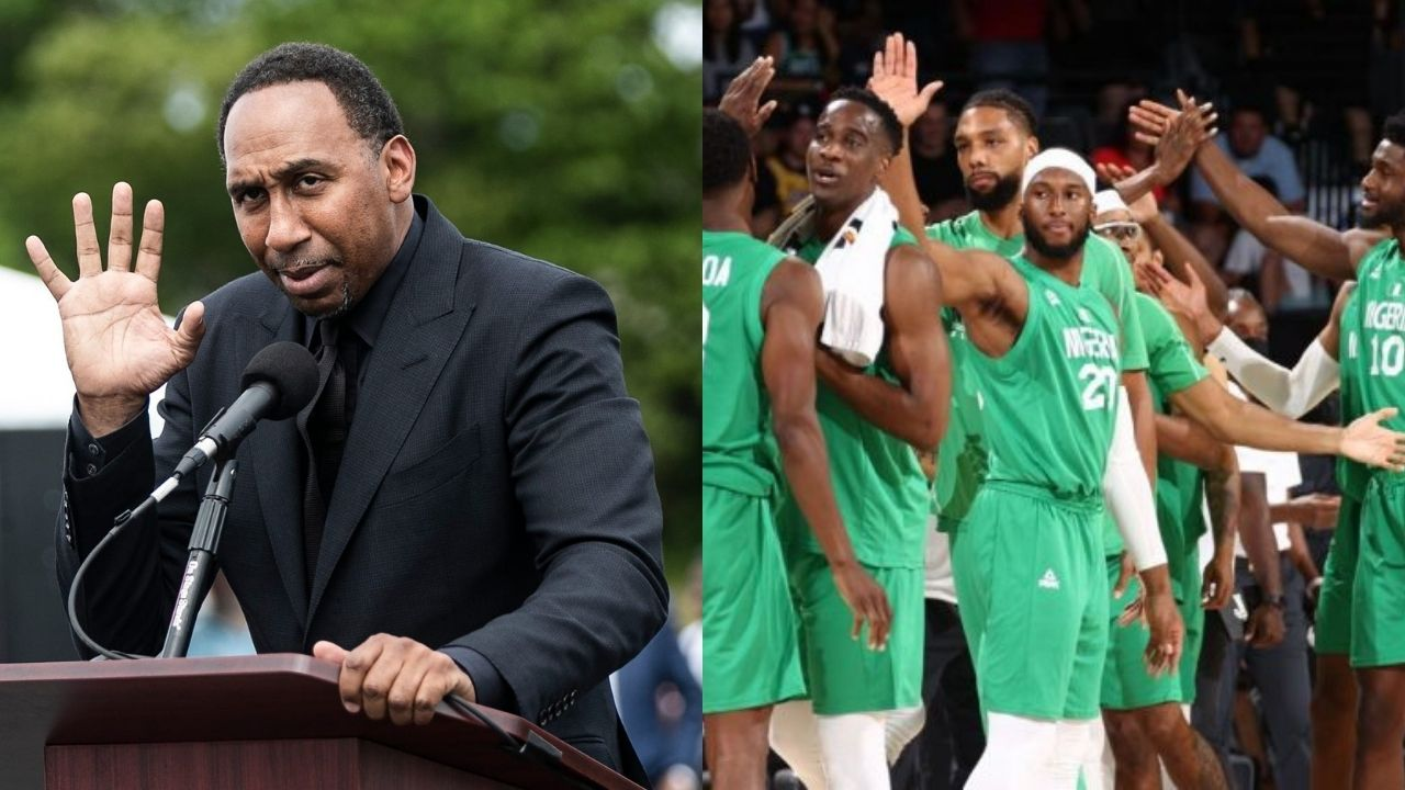 """""""Stephen A Smith, don't claim the culture if you disrespect it"""": Bucks player goes off on the ESPN analyst for mocking a Nigerian basketball player's name following win over Team USA"""