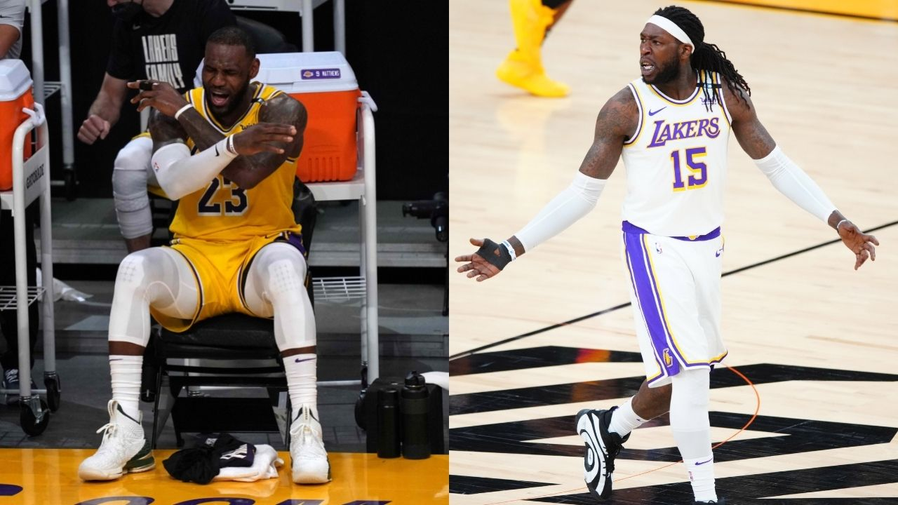 """""""LeBron James is merely a basketball player, not a hooper"""": Kendrick Perkins belittles the Lakers MVP's skills by claiming Montrezl Harrell is a hooper"""