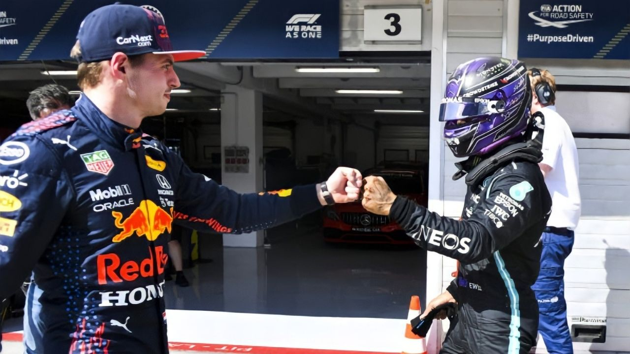 """""""Can we please stop with this?""""– Max Verstappen fumes at excessive questions on Lewis Hamilton"""