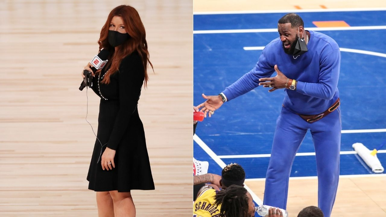 """""""Rachel Nichols' first call was to LeBron James' top advisor"""": Clay Travis breaks down how ESPN apparently insulates Lakers star from criticism"""