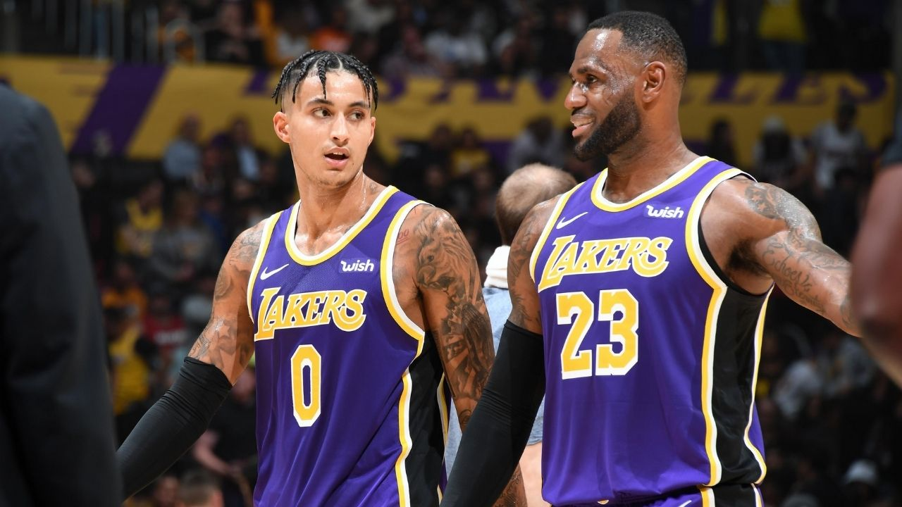 """""""LeBron James is like a little a** kid"""": Kyle Kuzma opens up about The King and his relations with the Lakers after getting traded"""