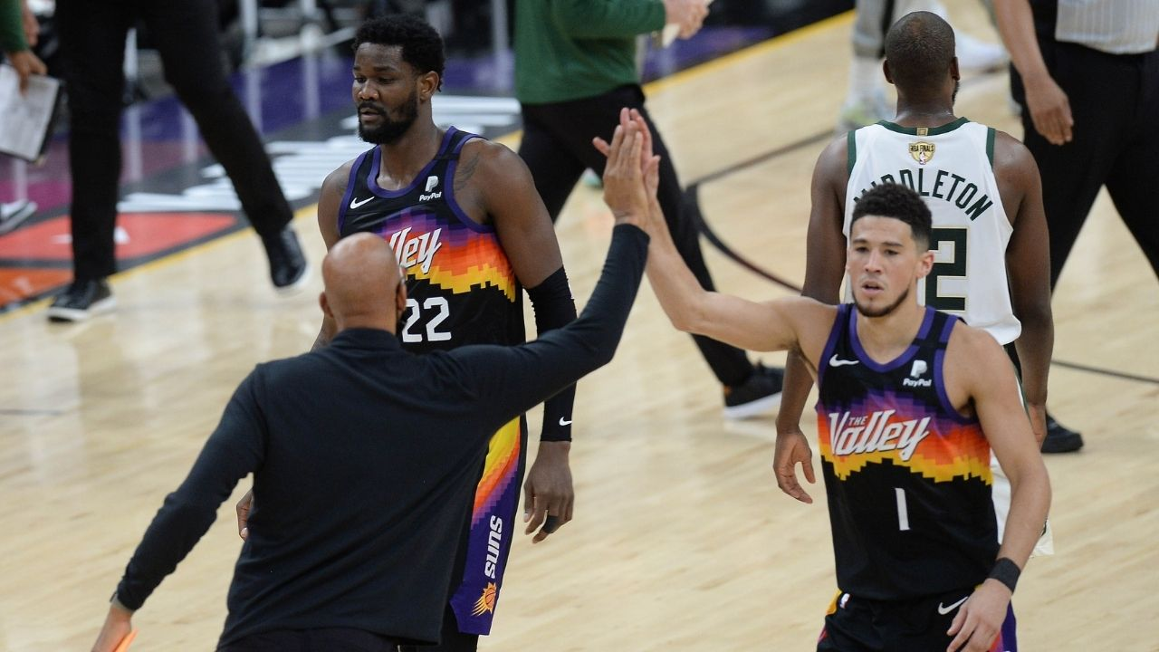 """""""A dynasty in the making shall I say!"""": NBA Analyst Kendrick Perkins believes the Devin Booker led Phoenix Suns are an upcoming dynasty"""