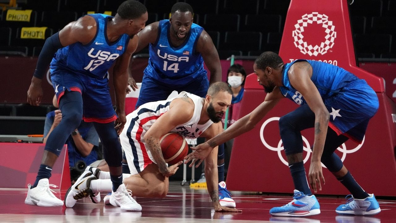 """""""LeBron James is who Kevin Durant thinks he is"""": NBA Twitter melts down after Team USA loses to France for first loss in 25 Olympics matches"""