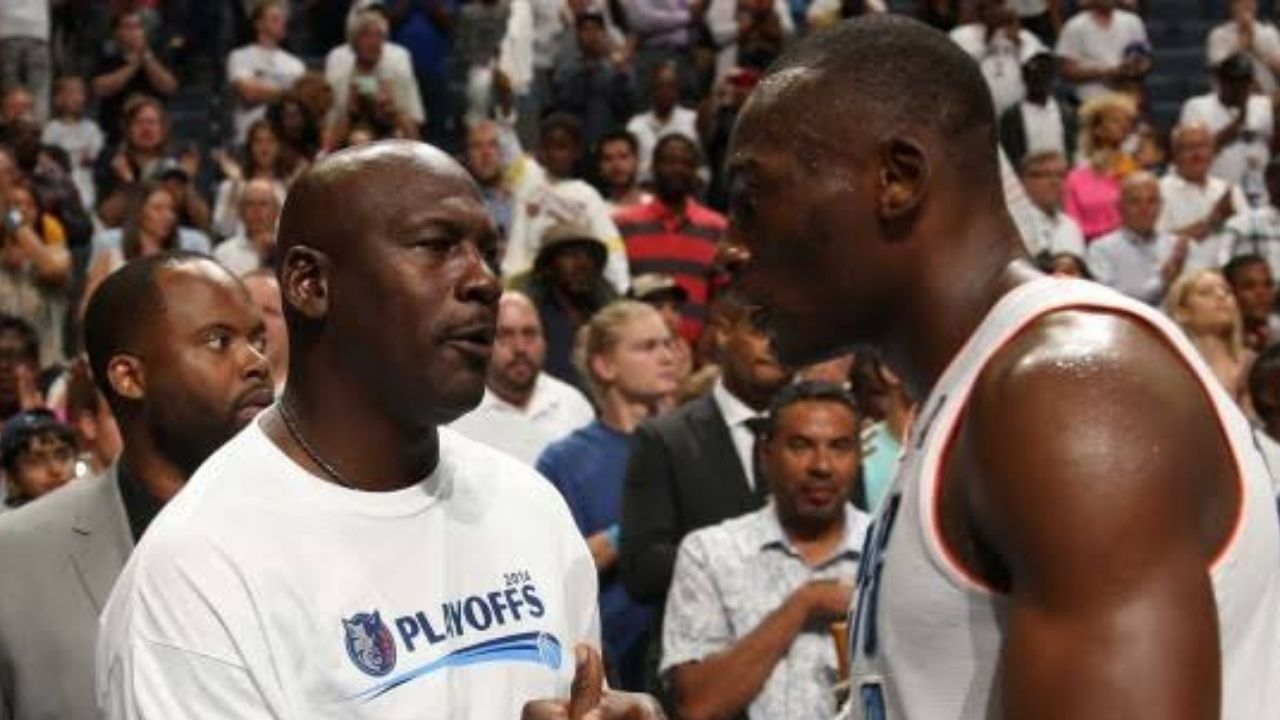 """""""Bismack Biyombo can't make 7 free throws in a row"""": When Michael Jordan hilariously bet $1000 against his own Charlotte Hornets player"""