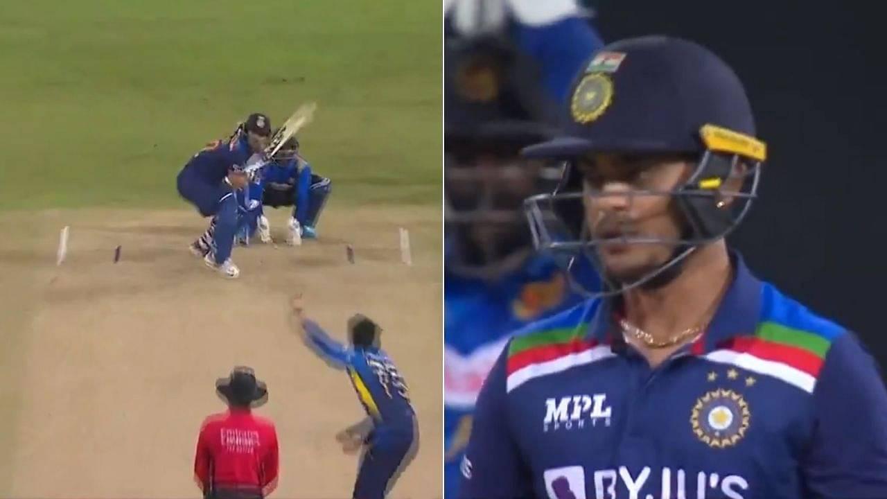 Ishan Kishan debut match: Kishan smashes first ball in ODI cricket for dominating six off Dhananjaya de Silva