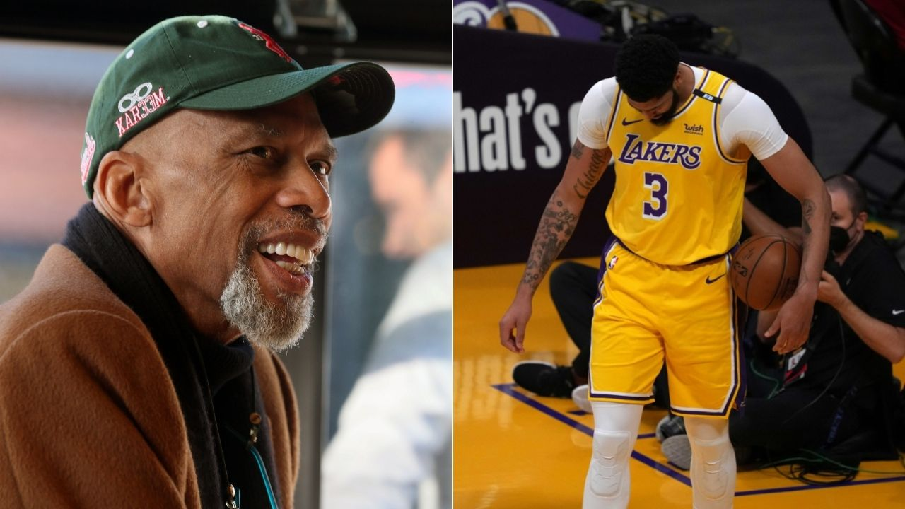 """""""Anthony Davis is the most talented NBA player"""": Kareem Abdul-Jabbar heaps praises for the Lakers star calling him his favorite frontcourt player"""