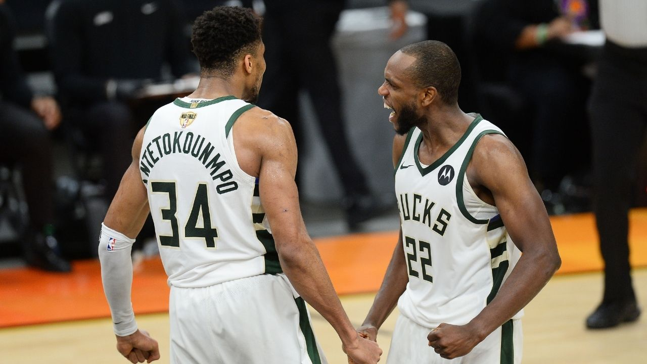 """""""What if Khris Middleton wins Finals MVP?"""": Nets guard's latest tweet earns him the ire of Giannis fans ahead of Bucks vs Suns Game 6"""