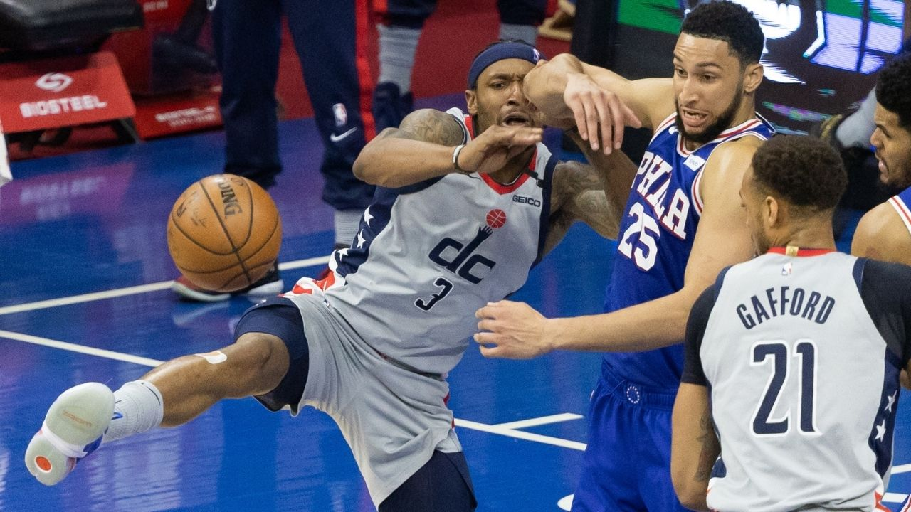"""""""We were the first ones to expose Ben Simmons"""": Bradley Beal aims a dig at 76er star after his abysmal postseason"""