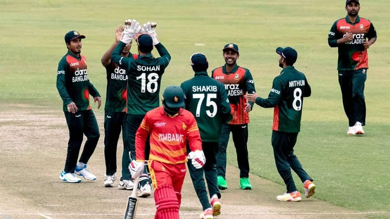 ZIM vs BAN Head to Head Records in T20Is   Zimbabwe vs Bangladesh Stats   Harare T20I