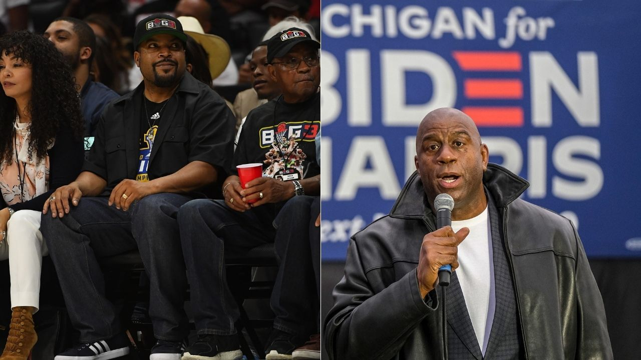 """""""Before Magic Johnson, it seemed like basketball was a job"""": Ice Cube explains how he became a Lakers superfan during the 80s, and how he was 'close to killing somebody' after the 1984 NBA Finals"""