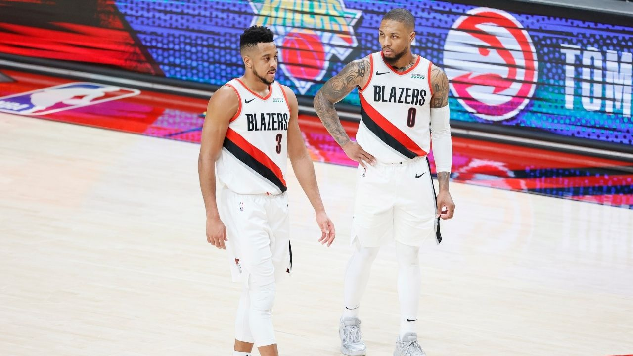 'Damian Lillard, it is getting out of hand bruv': CJ McCollum responds to fellow Blazers superstar's trade rumors amidst Lakers and Warriors interest