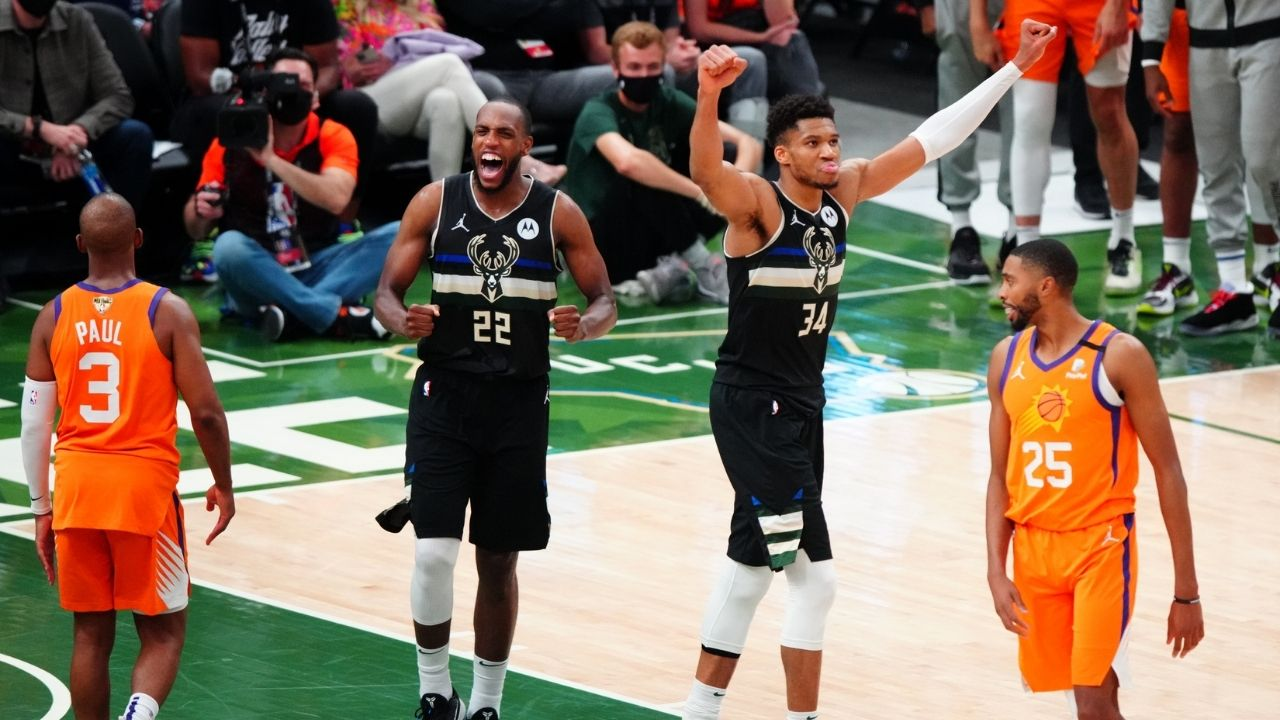 """""""Giannis, stop diminishing your teammates"""": Stephen Jackson calls out the Bucks MVP for claiming Khris Middleton and co aren't a superteam after beating Chris Paul and Suns"""
