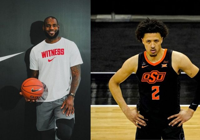 """""""Cade Cunningham is following in LeBron James' footsteps"""": Projected #1 pick signs an endorsement deal with Nike before the 2021 NBA Draft"""