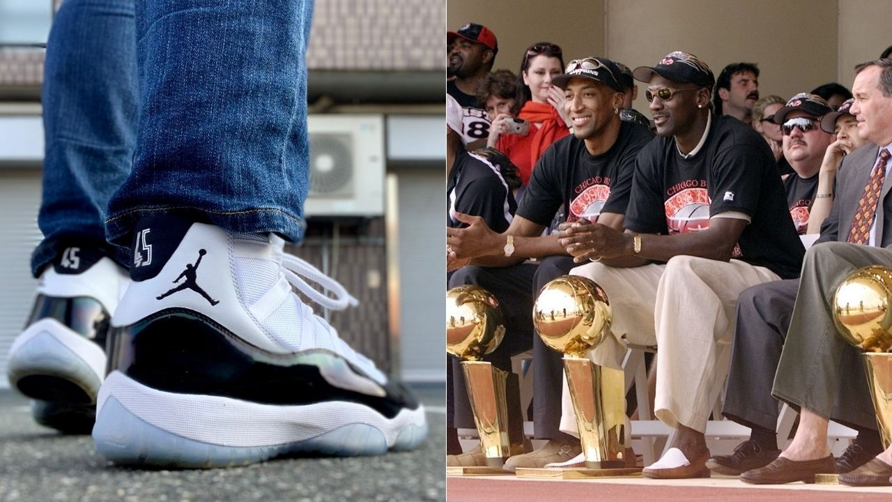 """""""Michael Jordan switched up his Concords with Space Jam shoes"""": How these iconic Air Jordan 11 colorways cost the Bulls legend fines from the NBA"""