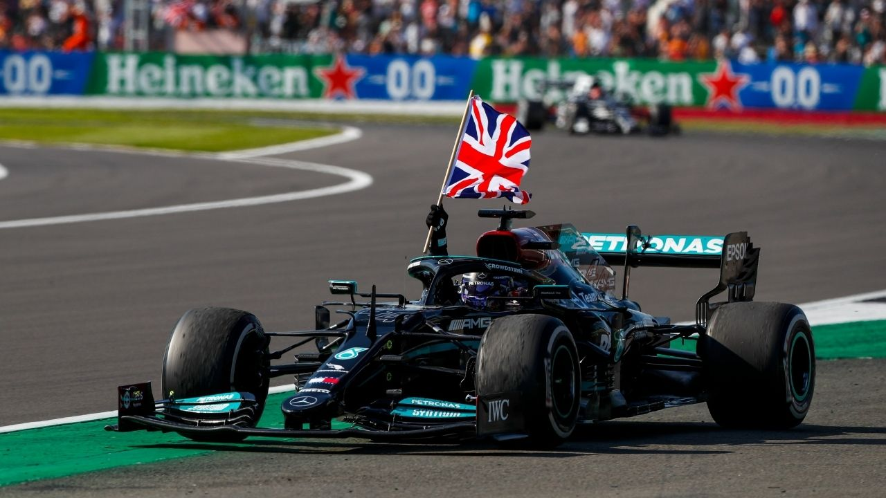 """""""He's very aggressive"""" - Lewis Hamilton refuses to take blame for collision with Max Verstappen"""