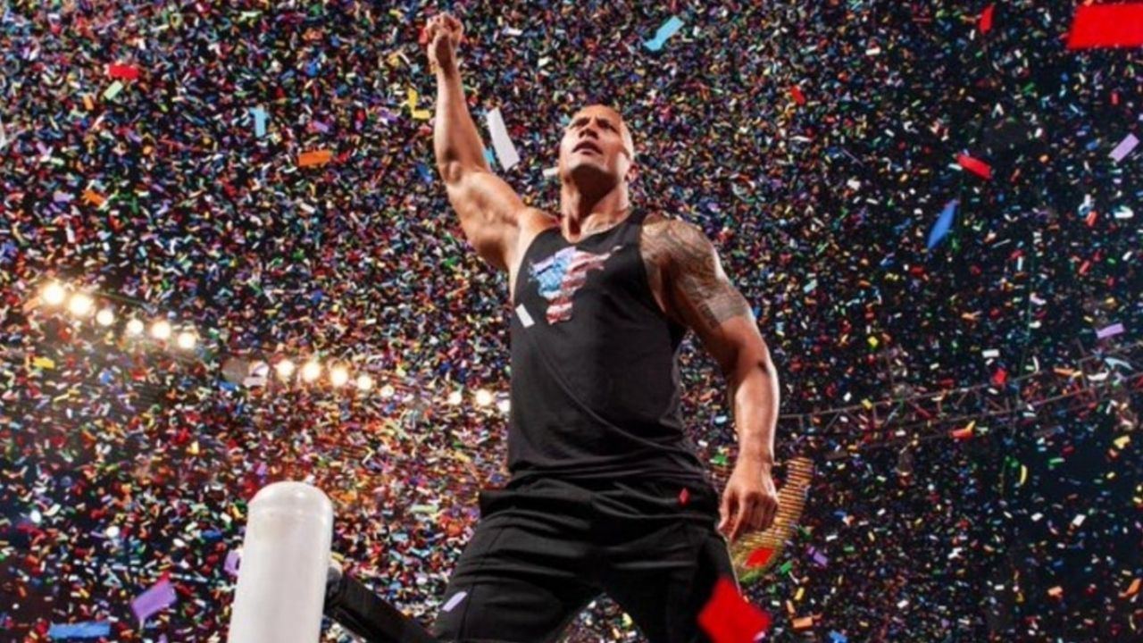 The Rock reportedly planned to make WWE return this year itself