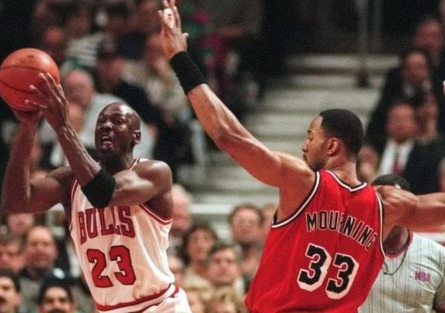 """Alonzo Mourning was weak in the mind"": Michael Jordan took shots at the Miami Heat legend whilst praising Dennis Rodman"