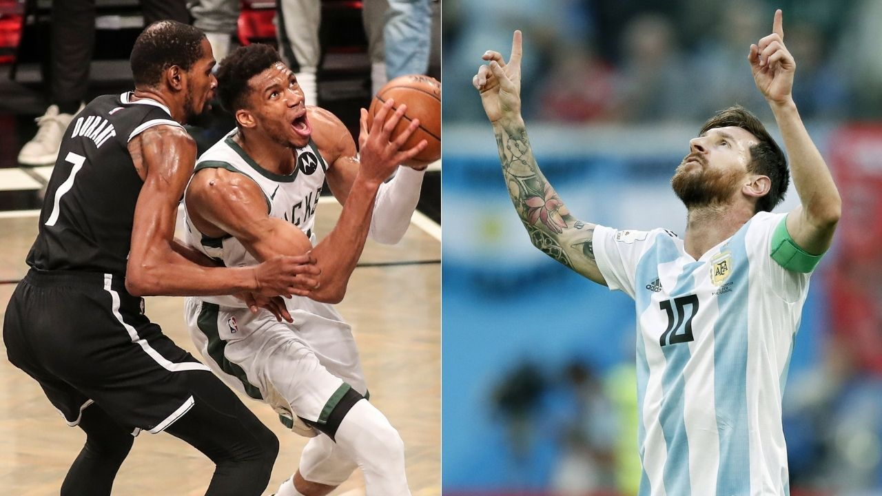 """""""Lionel Messi finally won an international trophy and Nigeria rocked international basketball"""": NBA Twitter reacts to Team USA losing exhibition home game to Nigeria as Kevin Durant, Zach LaVine throw up bricks"""