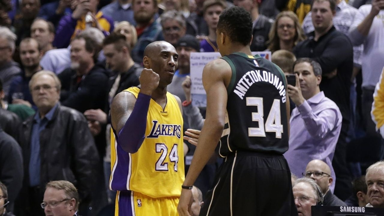 'Giannis Antetokounmpo could complete Kobe Bryant's challenge in Game 6': Bucks superstar on course to achieve Lakers legend's challenge in the NBA Finals vs Suns