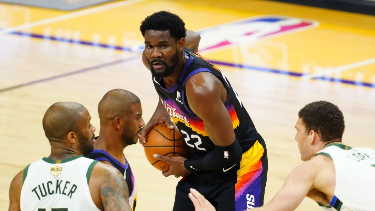 """""""Deandre Ayton is your 2021 Finals MVP!"""": Suns' big joins Kareem Abdul-Jabbar and Wilt Chamberlain in a special list after a mammoth Game 1 against the Bucks"""