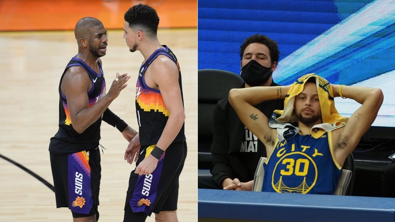 """""""Chris Paul and Devin Booker just surpassed the Splash Brothers"""": The Phoenix Suns backcourt recently achieved a huge feat in the 2021 NBA Finals"""