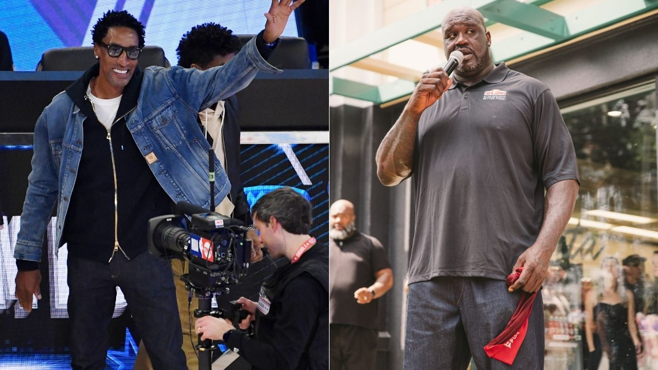 """""""Scottie Pippen is the water and I'm the bridge"""": Shaquille O'Neal roasted the Bulls legend in a 2016 Instagram faceoff"""