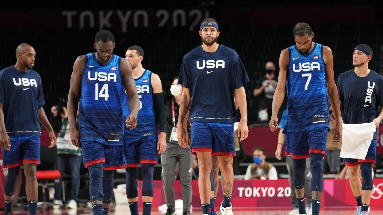 """""""Team USA players are frustrated with Gregg Popovich"""": Damian Lillard and co seemingly irked by Coach Pop employing a Spurs type offense in embarrassing loss to France"""