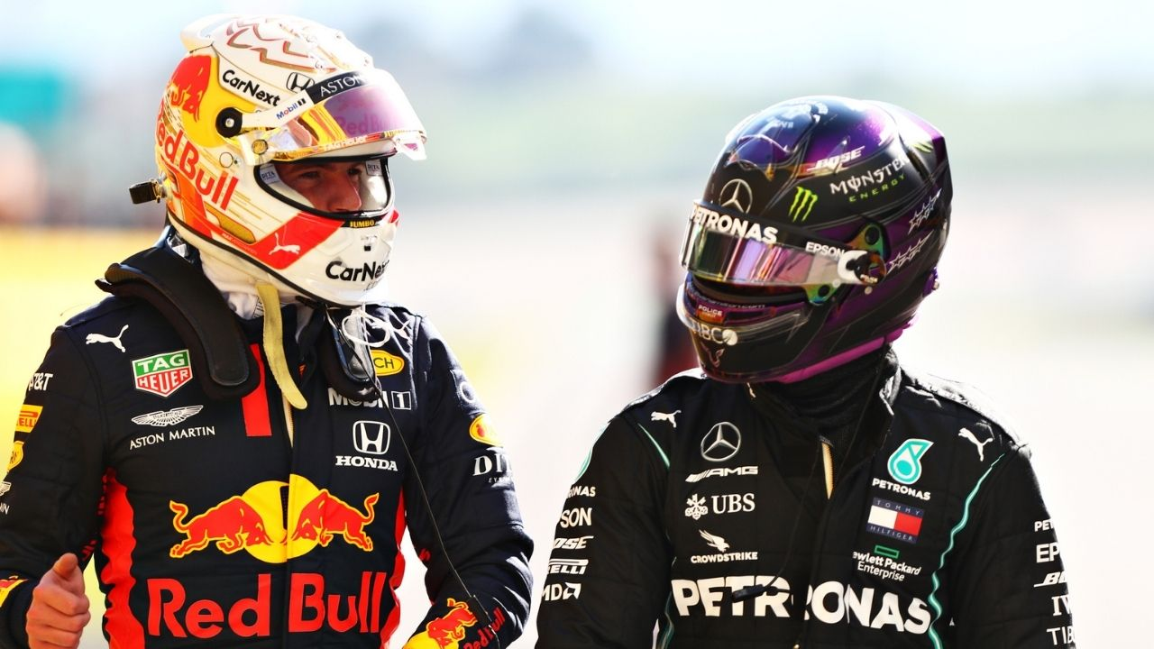 """""""That makes the championship more exciting""""– Lewis Hamilton claims it's more interesting to battle Max Verstappen than a hostile teammate"""