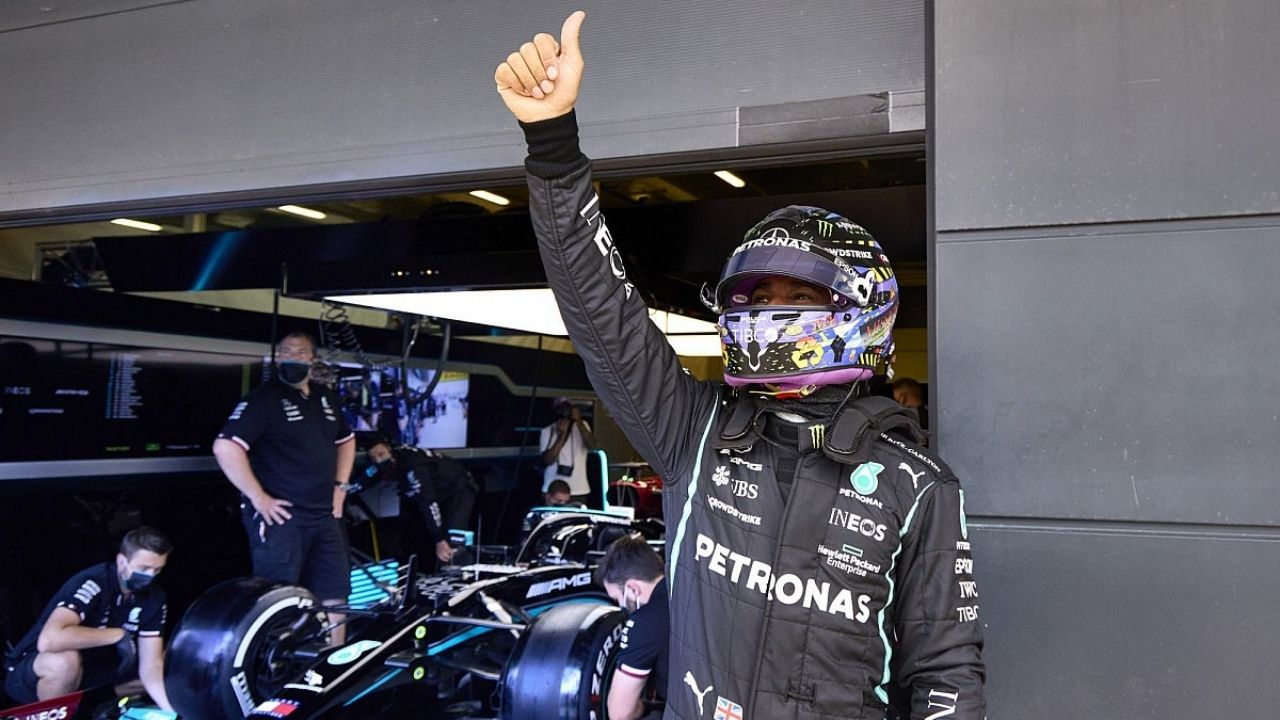 """""""He's started to see the benefits of it""""– Mercedes reveal Lewis Hamilton's changed opinion on simulator"""