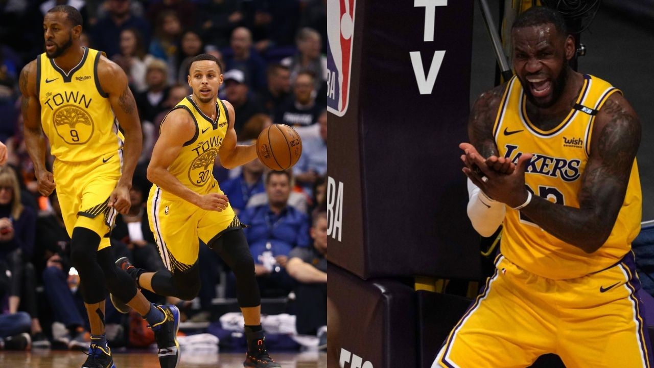 """""""Steph Curry should've won the NBA Finals MVP over me"""": Andre Iguodala admits that he would rather have had the Warriors superstar be Finals MVP over him and LeBron James"""