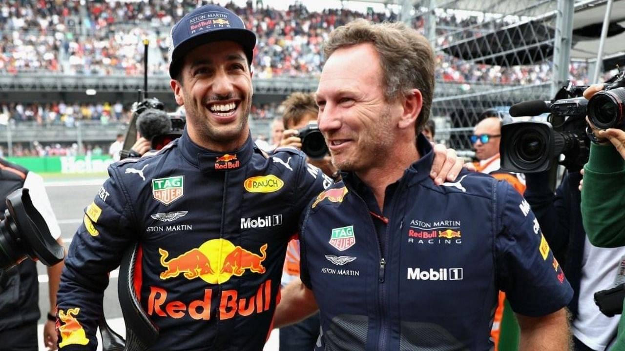 """I'm sad to see him having the struggles""– Christian Horner on Daniel Ricciardo"
