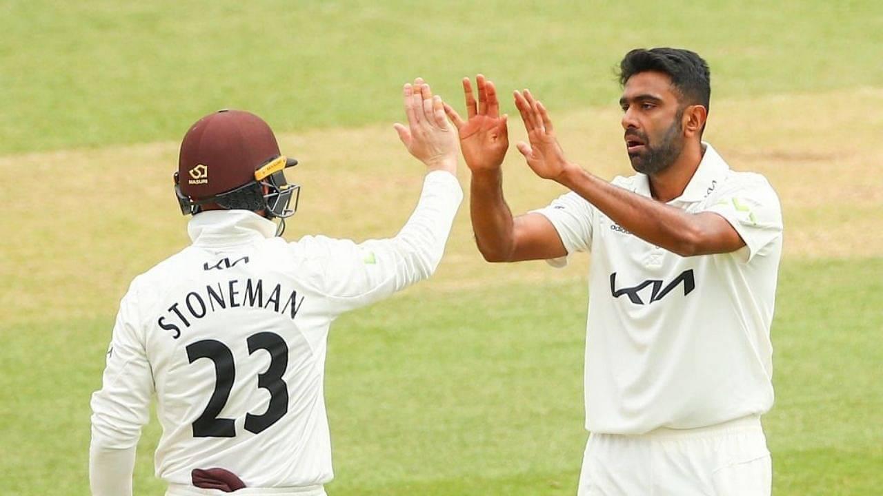 Surrey vs Somerset: Ravi Ashwin picks five-wicket haul on Surrey debut in County Championship 2021