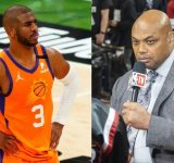 """""""Never been drunk enough to refuse $45 million"""": Charles Barkley says Chris Paul would be mad to turn down $45million player option with Suns despite NBA Finals loss"""