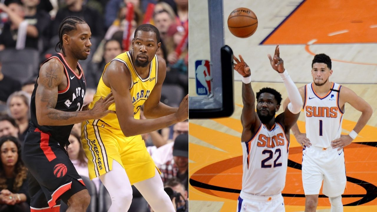 """""""Deandre Ayton will surpass Kevin Durant and make the most efficient individual playoff run in NBA history"""": Suns center's scoring is more efficient than Kawhi Leonard and the Nets superstar's best playoff runs"""