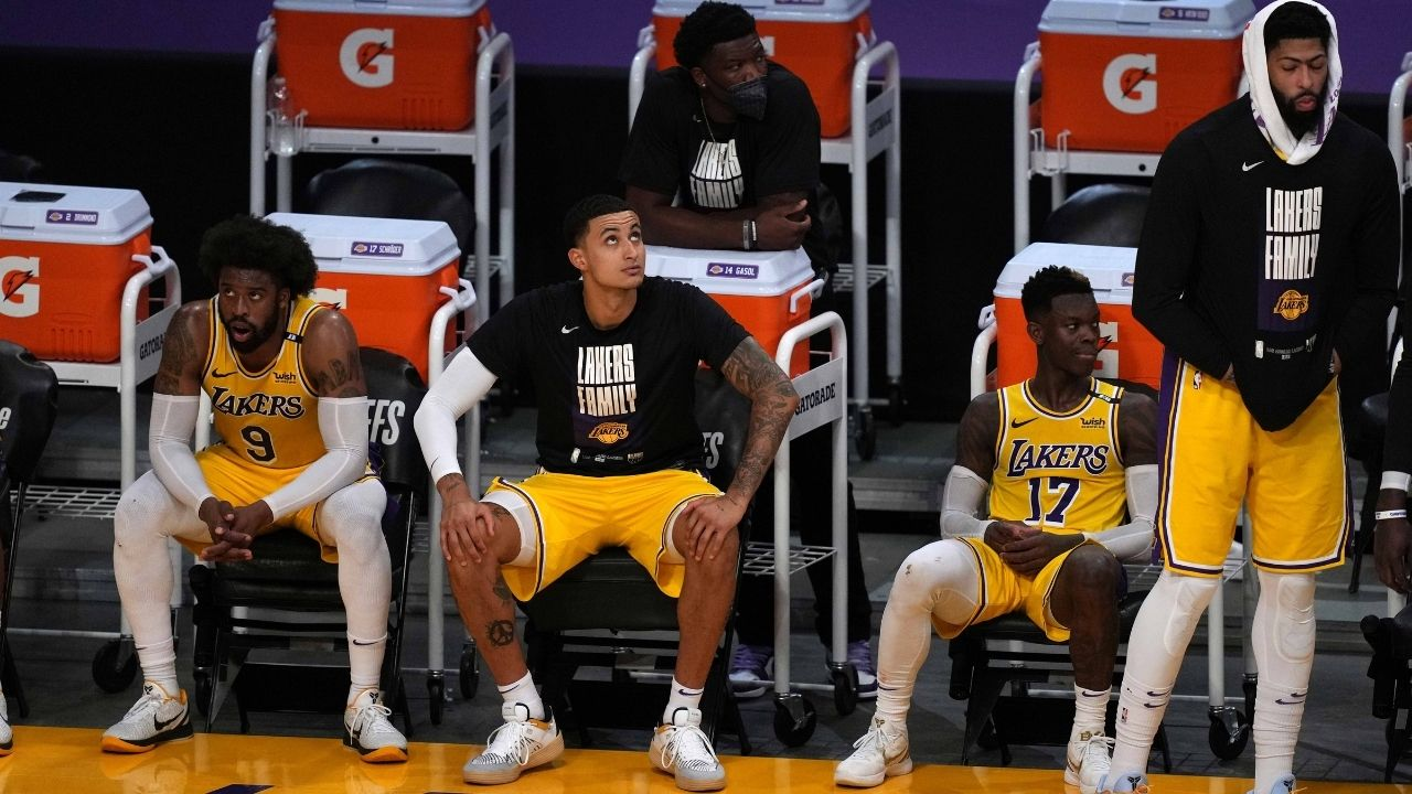 """""""Laugh now, cry later"""": Kyle Kuzma sends out an ominous message to Lakers fans ahead of his first season with the Wizards"""