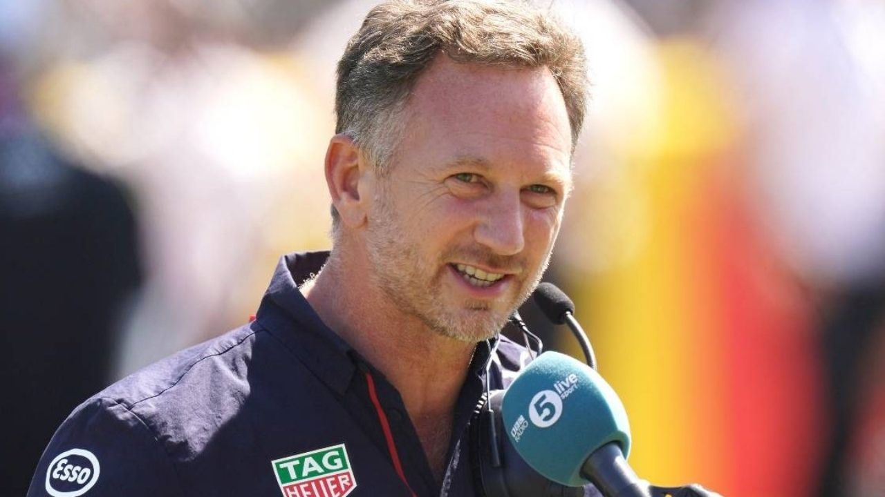 """""""Lewis would have had to have braked 23 metres earlier to make that corner""""– Christian Horner claims Lewis Hamilton was never going to make the turn"""