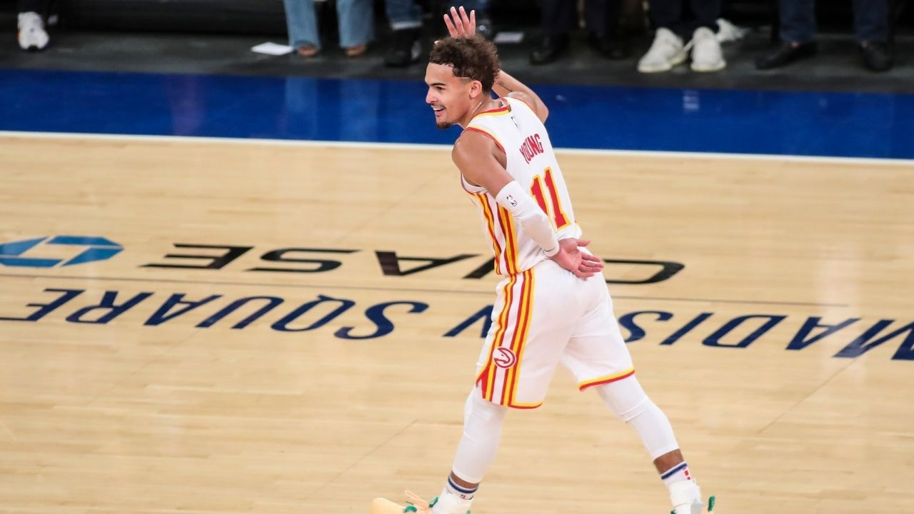 """""""Team USA really selected Keldon Johnson over Trae Young"""": NBA fans go crazy as the Hawks superstar hit a crazy game-winner in the OKC Skinz league"""